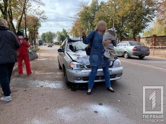 """ДТП в Кривом Роге: """"Lanos"""" влетел в трактор, - ФОТО , фото-1"""