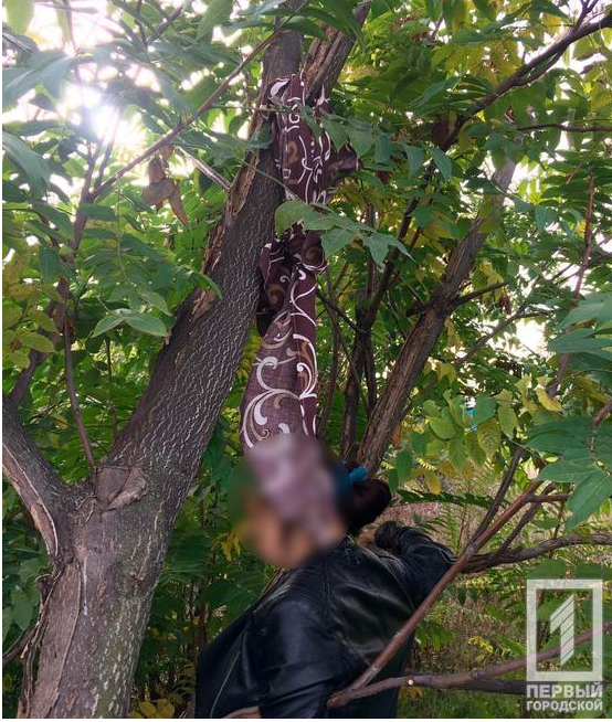 В Криворожском районе мужчина обнаружил свою знакомую повешенной, - ФОТО 18+, фото-1