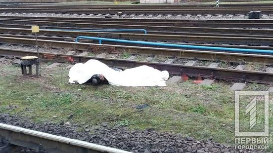 "Возле станции ""Кривой Рог"" поезд переехал мужчину, - ФОТО 18+ , фото-3"