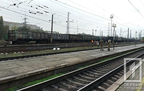 "Возле станции ""Кривой Рог"" поезд переехал мужчину, - ФОТО 18+ , фото-1"