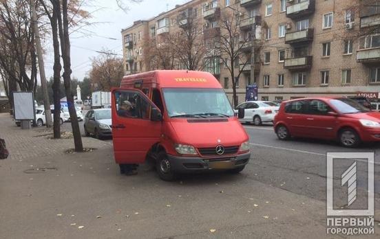 ДТП в Кривом Роге: водитель маршрутки потерял сознание за рулем, - ФОТО , фото-2