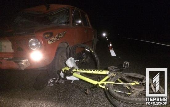 В результате ДТП в Кривом Роге пострадал велосипедист, - ФОТО , фото-1