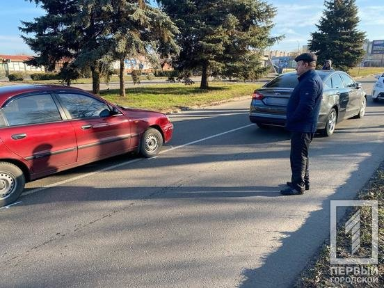 "ДТП в Кривом Роге: столкнулись ""Ford"" и ""Daewoo"", - ФОТО , фото-1"