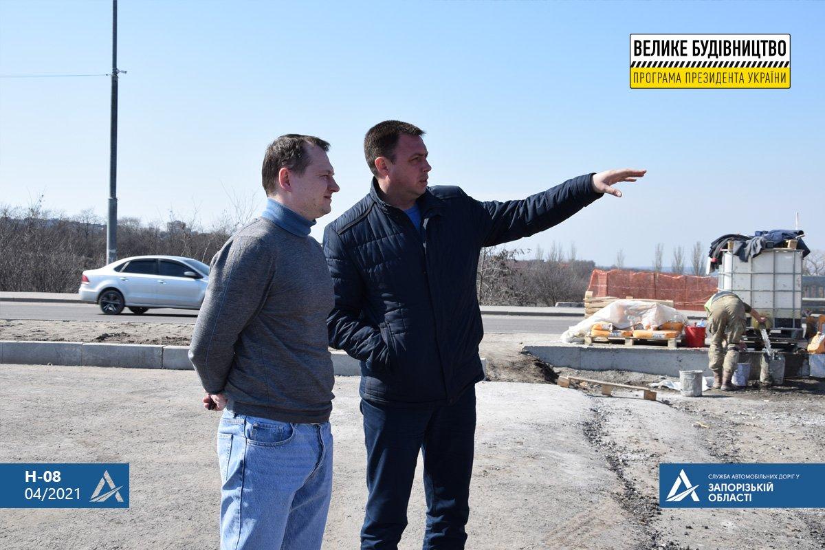 Руководство САД проверило соблюдение технологии при ремонте трассы Н-23 Кропивницкий-Кривой Рог - Запорожье, - ФОТО , фото-13