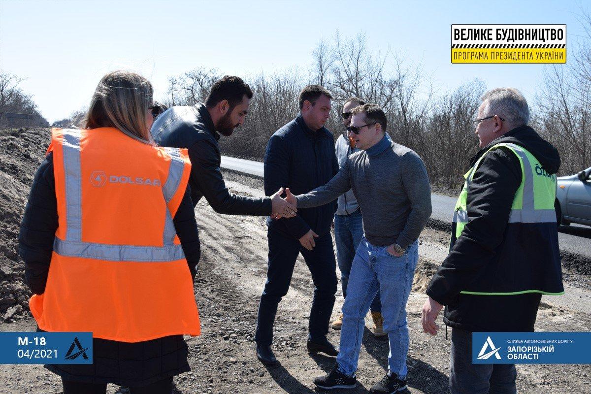 Руководство САД проверило соблюдение технологии при ремонте трассы Н-23 Кропивницкий-Кривой Рог - Запорожье, - ФОТО , фото-8