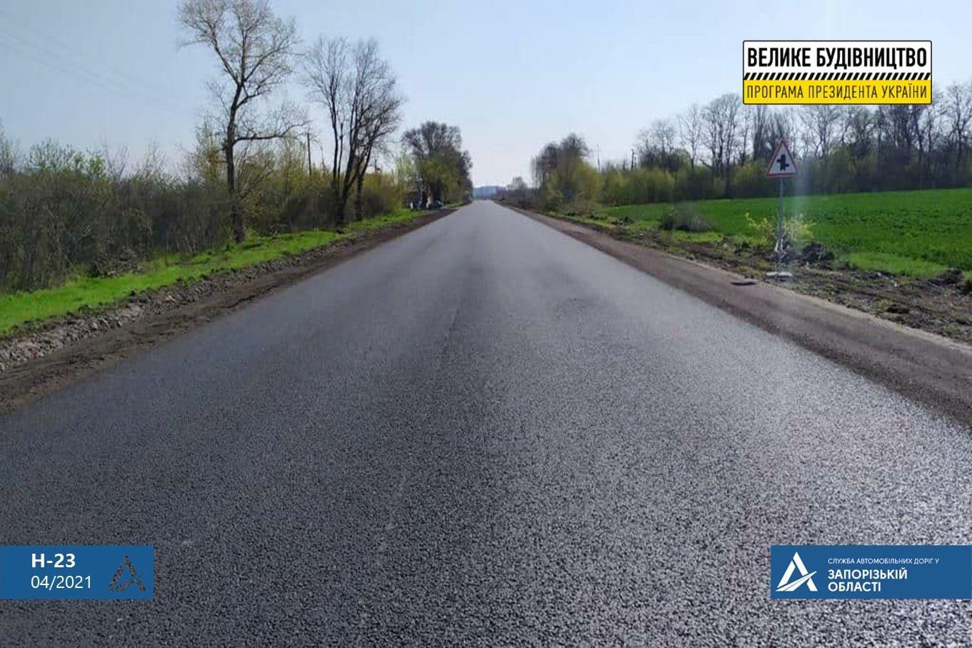 На трассе Кропивницкий-Кривой Рог - Запорожье завершаются работы по асфальтированию дороги, - ФОТО , фото-3