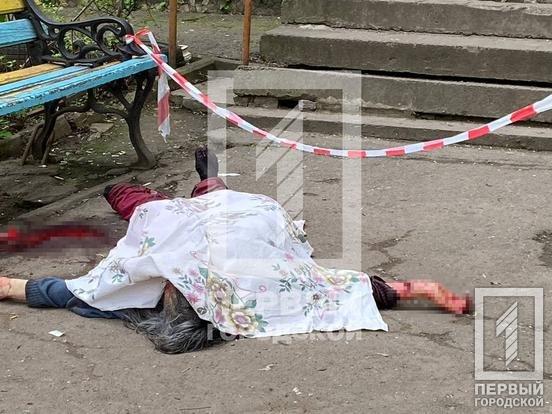 Криворожане обнаружили под подъездом окровавленное тело женщины, - ФОТО 18+, фото-3