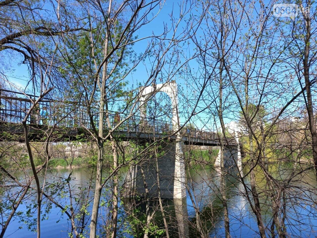 Свадебный, пешеходный, железнодорожный, - история создания криворожских мостов, - ФОТО, фото-8