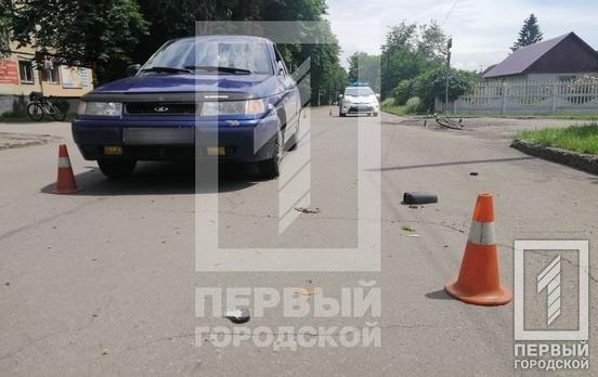 """В Кривом Роге """"Лада"""" сбила 10-летнего велосипедиста, - ФОТО, фото-1"""