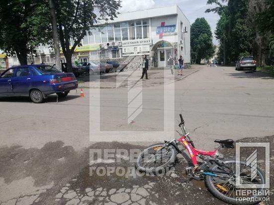 """В Кривом Роге """"Лада"""" сбила 10-летнего велосипедиста, - ФОТО, фото-3"""