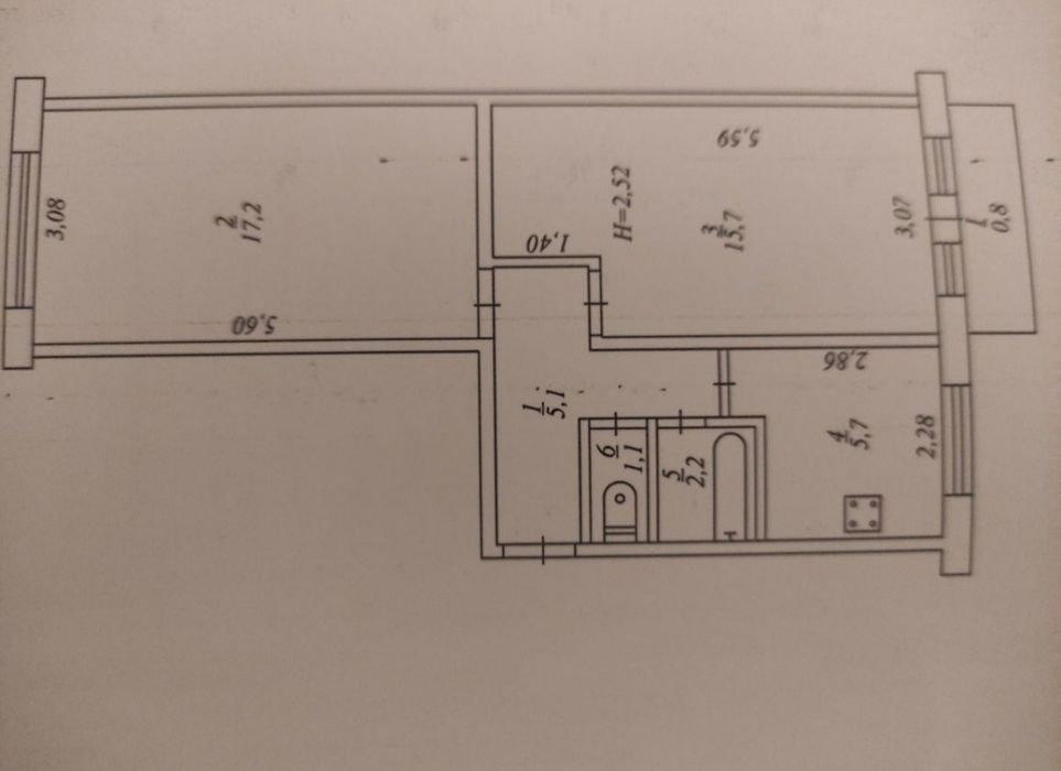 Купить квартиру в Кривом Роге: сколько стоит двухкомнатная квартира на 95-м квартале, - ФОТО, фото-31