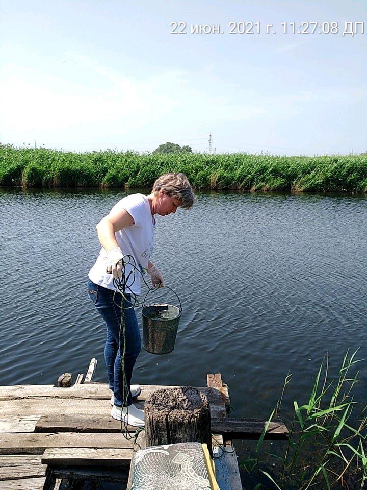В Кривом Роге отобрали пробы воды в реке Саксагань для лабораторных исследований, - ФОТО , фото-5