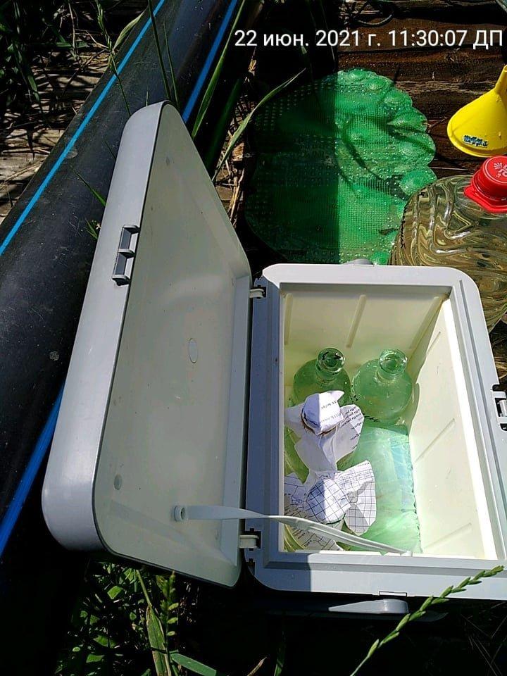 В Кривом Роге отобрали пробы воды в реке Саксагань для лабораторных исследований, - ФОТО , фото-3