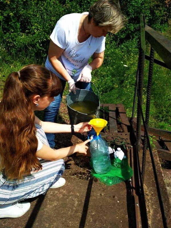 В Кривом Роге отобрали пробы воды в реке Саксагань для лабораторных исследований, - ФОТО , фото-7