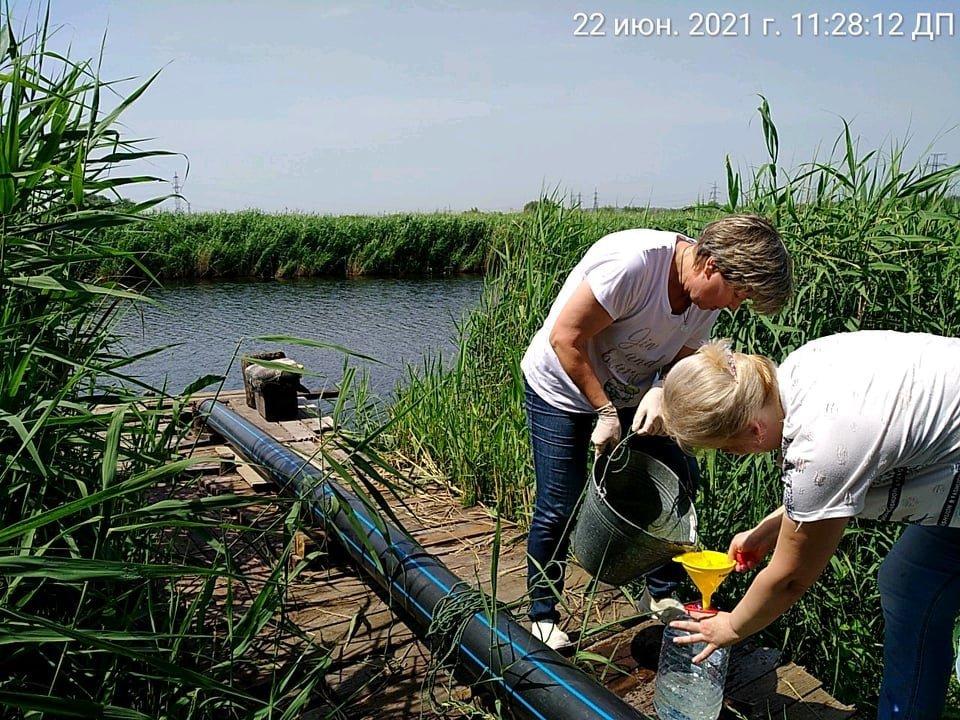 В Кривом Роге отобрали пробы воды в реке Саксагань для лабораторных исследований, - ФОТО , фото-4