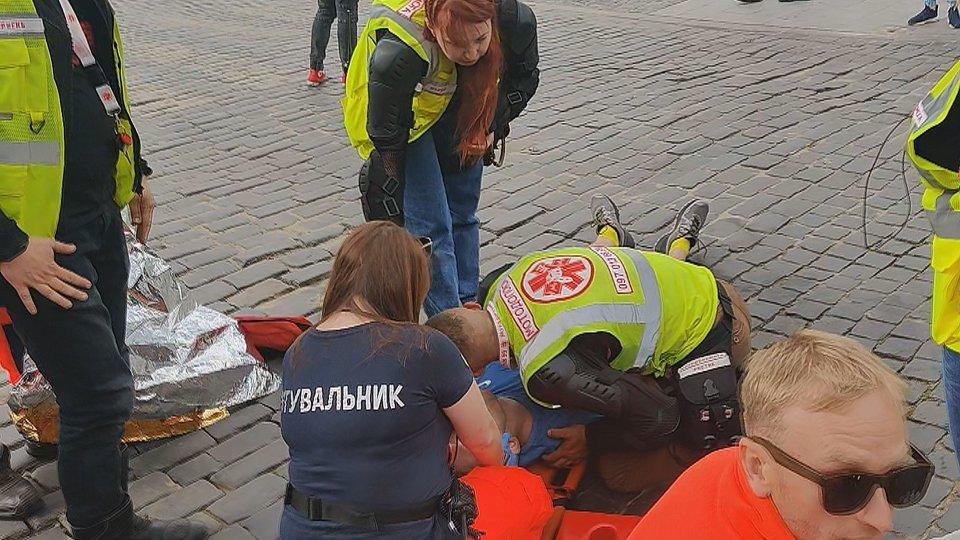 Во время львовского полумарафон умер 23-летний бегун, - ФОТО , фото-1