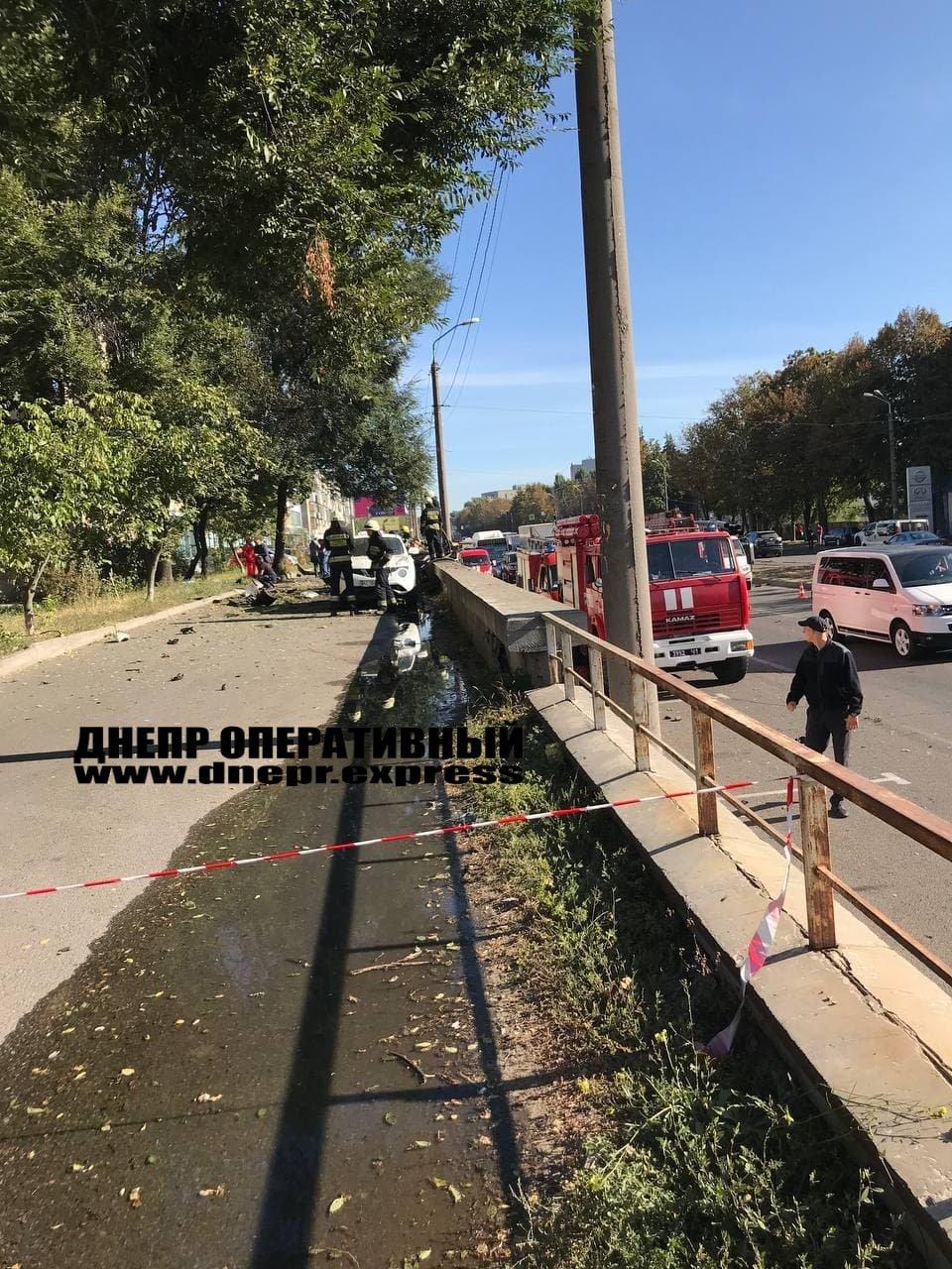 В Днепре от взрыва автомобиль разорвало на части, погибли 2 человека, - ФОТО, фото-4