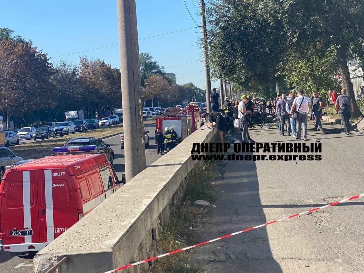 В Днепре от взрыва автомобиль разорвало на части, погибли 2 человека, - ФОТО, фото-7