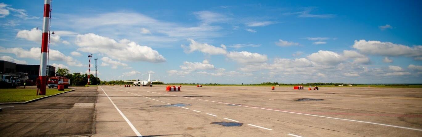 Зеленский в Кривом Роге: в аэропорту с Президентом поговорили о планах по реконструкции, - ФОТО